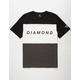 DIAMOND SUPPLY CO. College Panel Mens T-Shirt