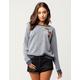 OTHERS FOLLOW Fleece Patch Womens Sweatshirt
