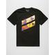 HURLEY Icon Slash Palm Mens T-Shirt