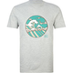 QUIKSILVER Black Beach Mens T-Shirt