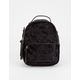 VIOLET RAY Trinity Velvet Mini Backpack