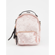 VIOLET RAY Trinity Velvet Mini Backpack