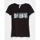 WHITE FAWN Dream Girls Sequin Tee