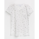 IVY & MAIN Star Print Girls Pocket Tee
