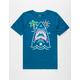 HURLEY Neon Shark Boys T-Shirt