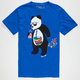 RIOT SOCIETY Panda Bubbles Mens T-Shirt