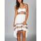 LIRA Racey Cut Out Hi Low Dress
