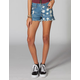 LIRA You're A Star Womens Denim Cutoff Shorts