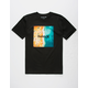 HURLEY Shoreline Square Mens T-Shirt
