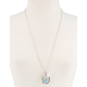 FULL TILT Feather Stone Necklace