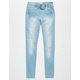 RSQ Ibiza Girls Ripped Skinny Jeans