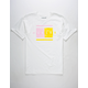 HURLEY Shallow Split Color Mens T-Shirt