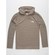 THE NORTH FACE Triblend Mens Lightweight Hoodie