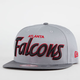 NEW ERA Team Script Falcons Mens Snapback Hat