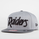 NEW ERA Team Script Raiders Mens Snapback Hat