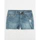 VANILLA STAR PREMIUM Embroidered Girls Denim Shorts