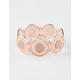 FULL TILT Rose Medallion Bracelet