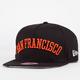 NEW ERA Flipup Giants Mens Snapback Hat