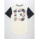 ASPHALT YACHT CLUB Floral Team Mens T-Shirt