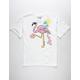 RIOT SOCIETY Flamingo Donut Boys T-Shirt