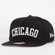NEW ERA Flipup Whtie Sox Mens Snapback Hat