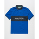 NAUTICA Name Block Mens Polo Shirt