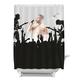 BIGMOUTH INC. Rockstar Shower Curtain