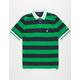 NAUTICA Striped Mens Polo Shirt