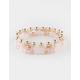 FULL TILT 3 Pack Rose Beaded Bracelets