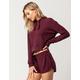 FULL TILT Cozy Womens Crop Sweatshirt