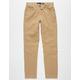 RSQ London Boys Skinny Stretch Khaki Pants