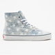 VANS Washed Denim Authentic Hi Womens Shoes