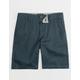 NITROUS BLACK Ransom Boys Slim Chino Shorts