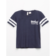 SKY AND SPARROW Weekend Girls Varsity Tee