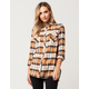 VOLCOM Desert Fly Womens Flannel Shirt