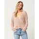 IVY & MAIN Surplice Womens Sweater