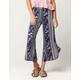 BEBOP Floral Womens Culotte Pants