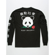 RIOT SOCIETY Rose Panda Mens T-Shirt
