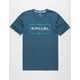 RIP CURL Cage Classic Mens T-Shirt