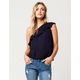 PATRONS OF PEACE One Shoulder Womens Top