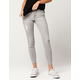 CELEBRITY PINK Raw Ankle Womens Ripped Jeans