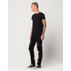 RSQ Seattle Moto Mens Skinny Tapered Jeans