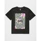 ASPHALT YACHT CLUB Geo Floral Boys T-Shirt