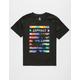 ASPHALT YACHT CLUB Palm Stripe Boys T-Shirt