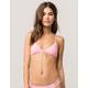 FULL TILT Triangle Pop Pink Bikini Top
