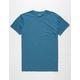 BLUE CROWN Solid Mens T-Shirt