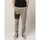 NITROUS BLACK Camo Patch Mens Jogger Pants