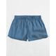 PPLA Chambray Girls Shorts