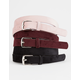 3 Pack Velvet Belts