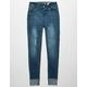 INDIGO REIN Rip & Repair Girls Skinny Jeans